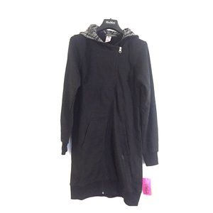 Zumba Sweatshirt Long Jacket Dress